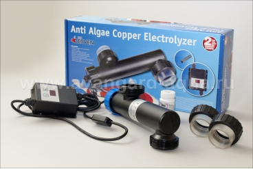 Электролизер VGE Anti Algae Copper Electrolyzer