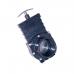 Шиберная заслонка/задвижка для труб, 90 мм