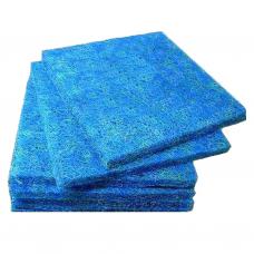 Мат японский (top) фильтрационный, голубой