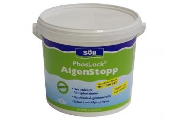 Средство против развития новых водорослей Soll PhosLock Algenstopp 5 кг