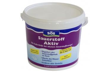 Средство для обогащения воды кислородом Soll Sauerstoff-Aktiv 5 кг